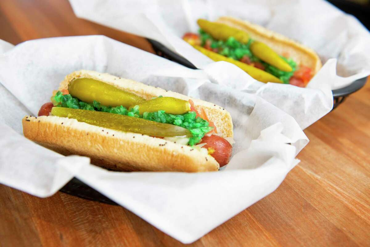 Wrigleyville Grill, located in the Park North Shopping Center, won the Best Hot Dogs category in the 2019 Express News Readers' Choice awards.