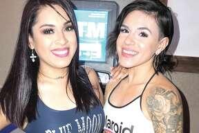 Sam Salazar and Nina Arellano at Blue Moon Country Bar & Patio
