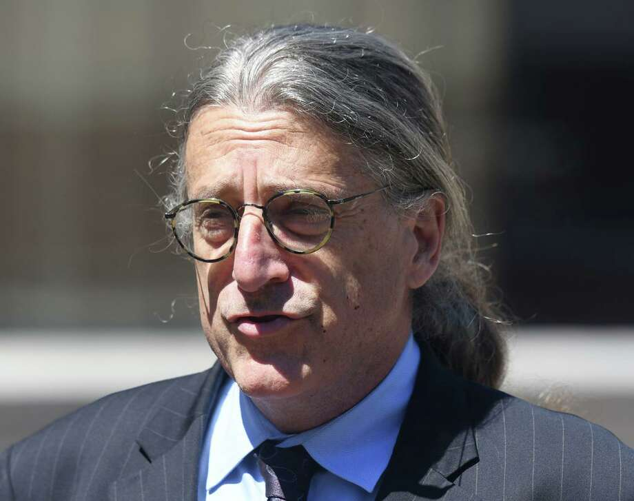 Attorney Norm Pattis speaks after making an appearance at Connecticut Superior Court in Stamford, Conn. Wednesday, June 26, 2019 for Fotis Dulos. Photo: Tyler Sizemore / Hearst Connecticut Media / Greenwich Time