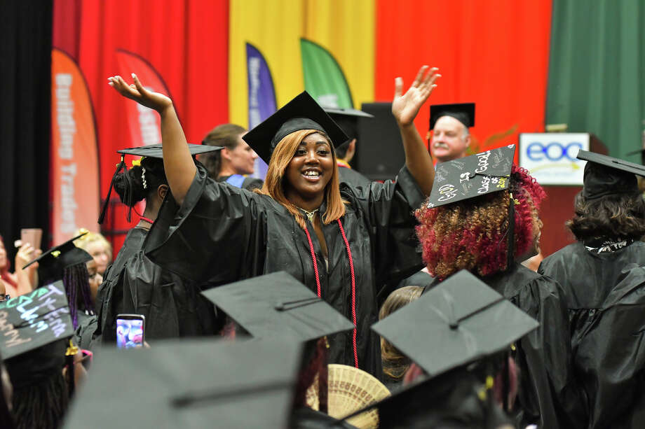 Were you Seen at the 53rd annual Capital District Educational Opportunity Center graduation ceremony at Hudson Valley Community College in Troy on June 27, 2019? Photo: Vincent Giordano For HVCC / Copyright 2019