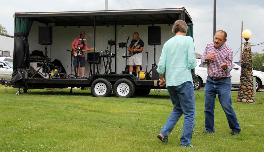 The Josh Ramses Band graced the Village of Elkton to play classic hits from the '50s and onwards, including songs by the Rolling Stones and the Temptations. This was the second installment of the Elkton Summer Entertainment Series. Photo: Andrew Mullin/Huron Daily Tribune