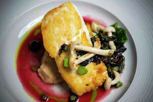 The Grill at Leon Springs is probably best known for its seafood, such as its halibut, owner and chef Thierry Burkle said. The restaurant won for best fine dining in this year's San Antonio Express-News' Readers' Choice awards.