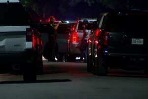 A fugitive was shot and killed after a standoff with Galveston deputies on Friday night.