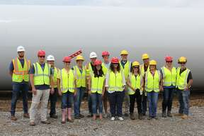 Consumers Energy gave their first summer tour of Cross Winds Energy Park Phase Three in Unionville. The third phase is expected to be fully operational in January.