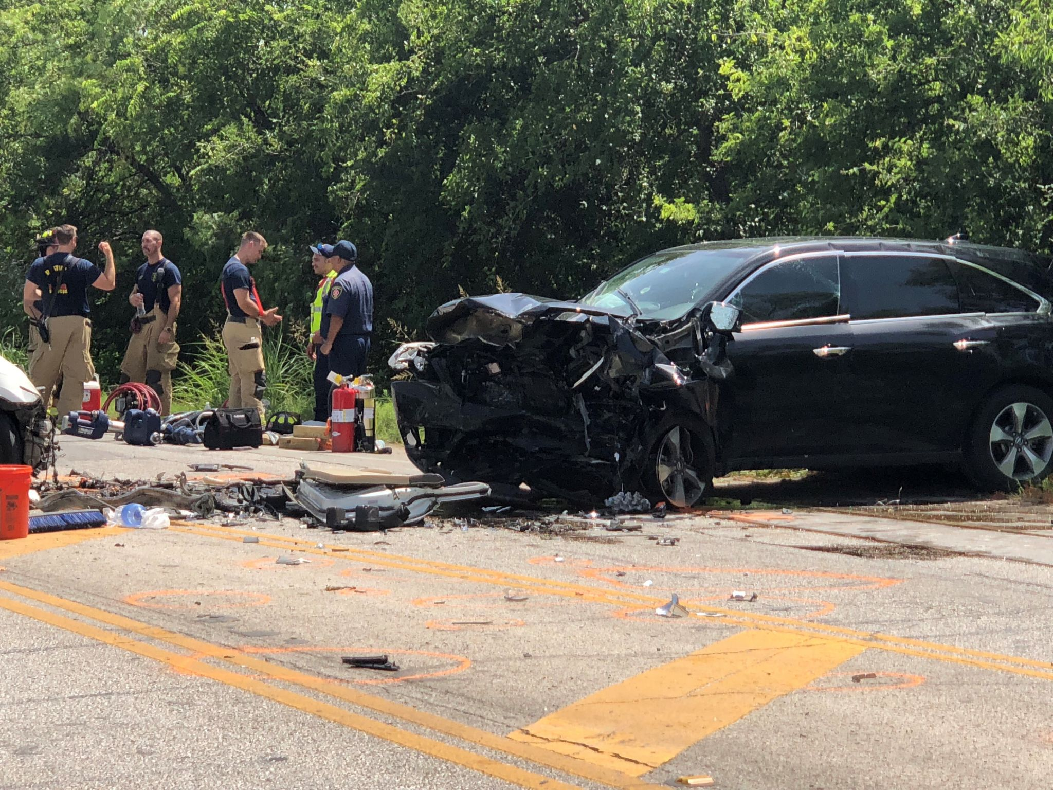 One dead, toddler in critical condition after fatal crash in