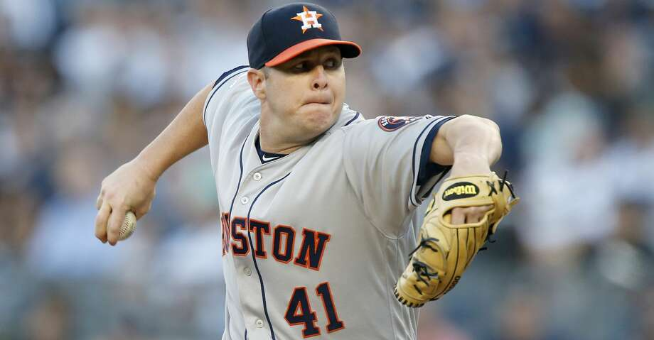 PHOTOS: Astros game-by-game Brad Peacock #41 of the Houston Astros pitches during the first inning against the New York Yankees at Yankee Stadium on June 21, 2019 in New York City. (Photo by Jim McIsaac/Getty Images) Browse through the photos to see how the Astros have fared in each game this season. Photo: Jim McIsaac/Getty Images