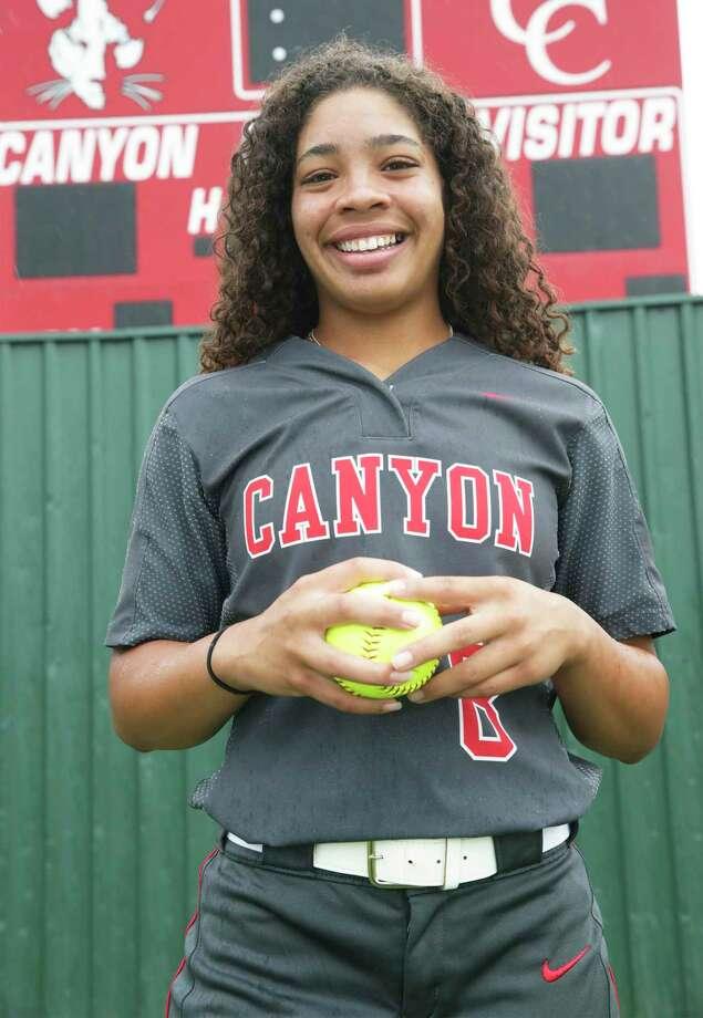 Aliyah Pritchett at Canyon High School on June 11, 2019. Photo: Tom Reel, Staff / Staff Photographer / 2019 SAN ANTONIO EXPRESS-NEWS
