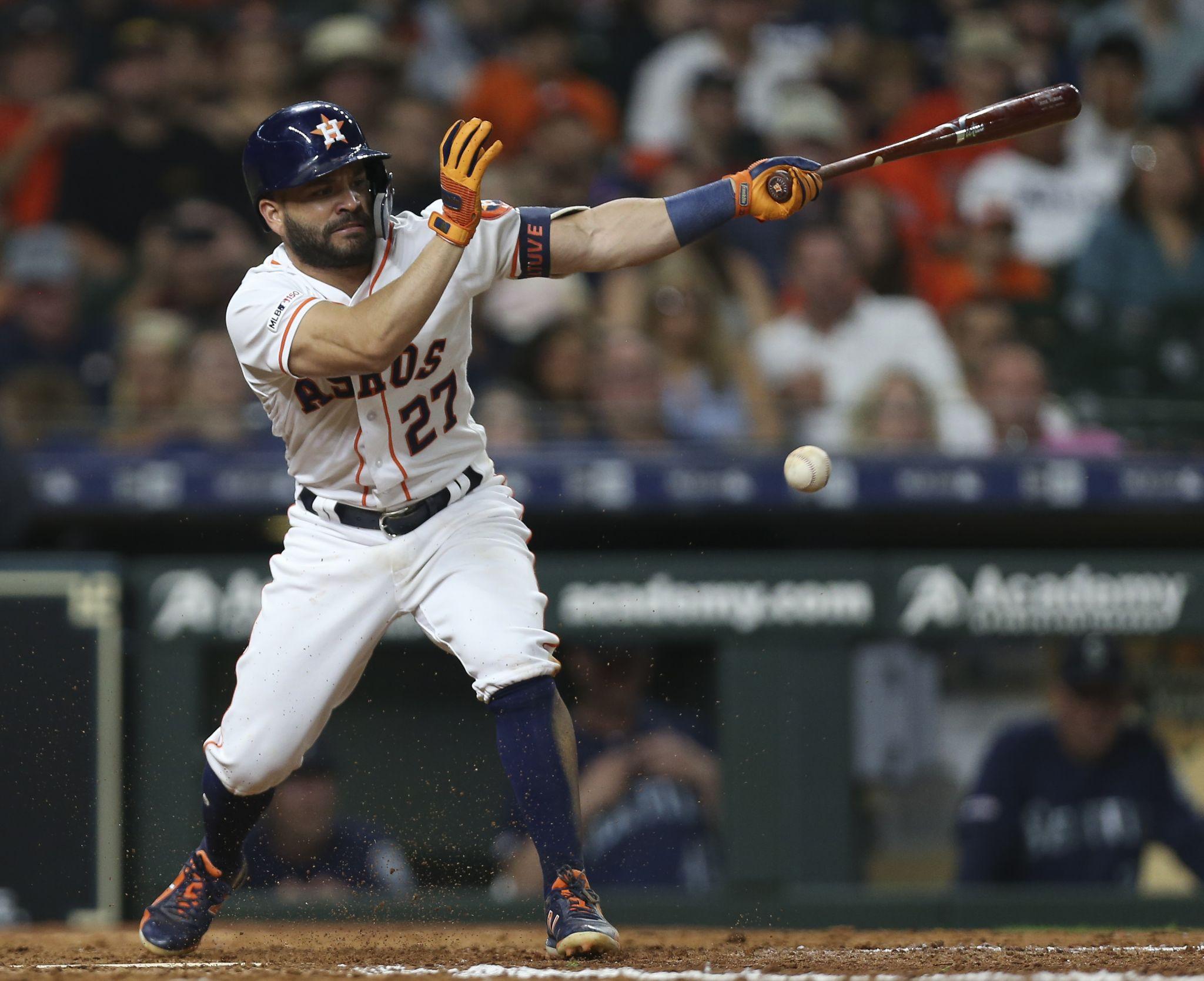 Astros' Jose Altuve finds old self since returning from injured list