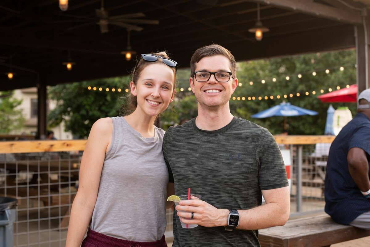 A peachy good time was had at the Twisted Peach Fest at The Block SA on Saturday, June 29, 2019, in San Antonio. The festival hosted food trucks that prepared peach-infused dishes and cocktails.