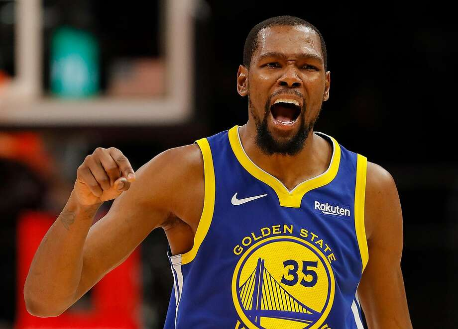 Kevin Durant agreed to sign with the Brooklyn Nets just after free agency began on June 30, 2019. The Nets said they had no knowledge of Durant's decision until the Warriors superstar announced it on Instagram. Photo: Kevin C. Cox / Getty Images