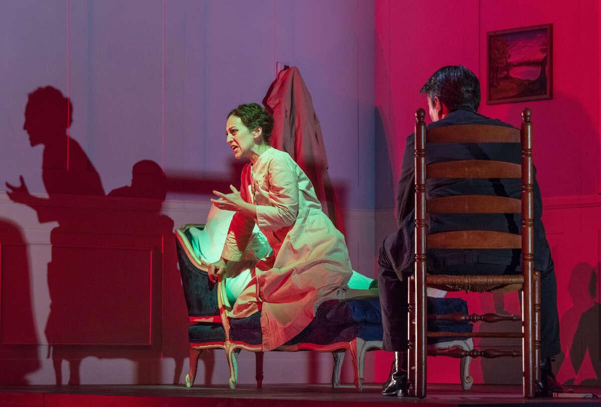 Jennifer Zetlan and Keith Phares in Opera Saratoga's production of