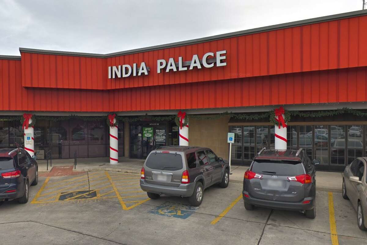 1. India Palace, 8474 Fredericksburg Road