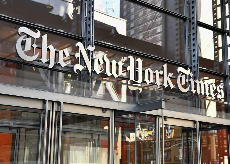 The New York Times building in New York Photo: ANGELA WEISS / AFP / Getty Images / AFP or licensors