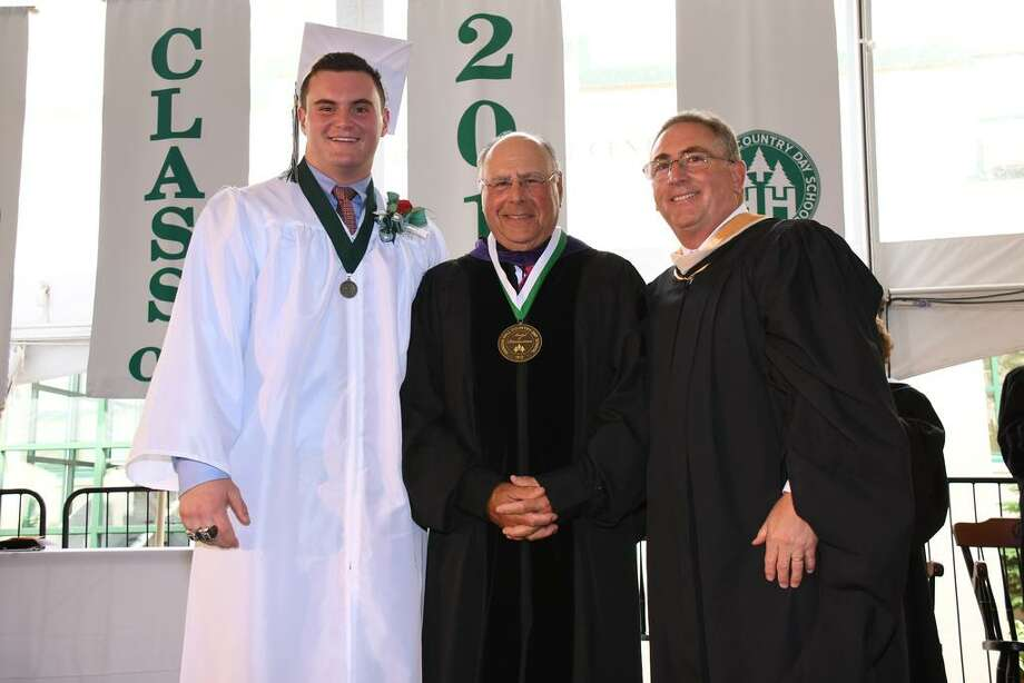 Hamden Hall Country Day School has awardedTrustee Carl M. Porto Sr. its Medalof Distinction. Photo: John Atashian / Contributed Photo / John Atashian