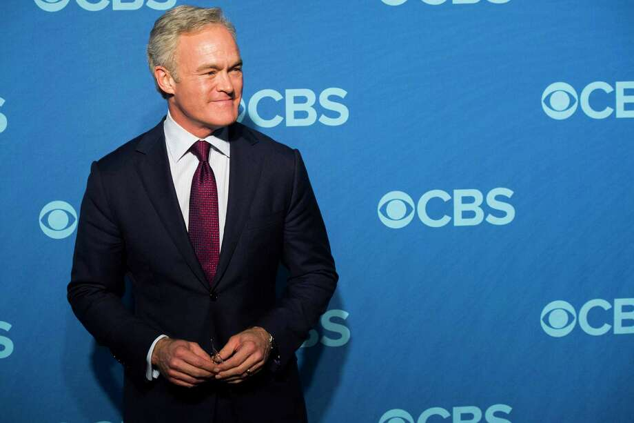 "File-This May 15, 2013, file photo shows Scott Pelley attending the CBS Upfront in New York. The Former ""CBS Evening News"" anchor says he lost that job because he wouldn't stop complaining to management about the hostile work environment for men and women. The ""60 Minutes"" correspondent tells CNN's Reliable Sources Sunday that things have changed after 18 months of dramatic management changes amid a slew of scandals and misconduct claims at CBS. (Photo by Charles Sykes/Invision/AP, File) Photo: Charles Sykes / Associated Press / Invision"