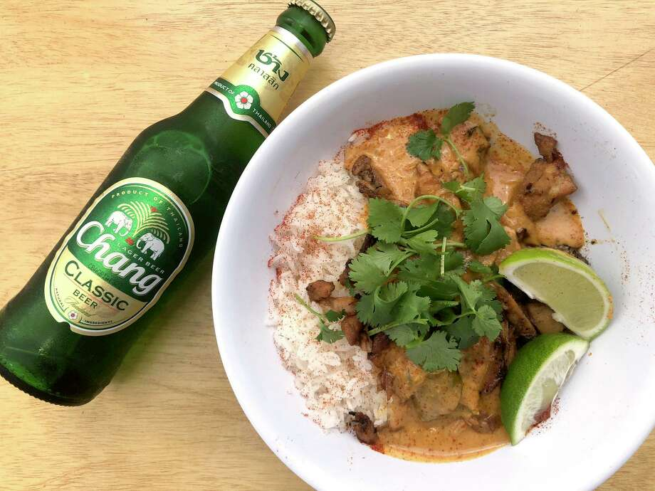 Lao-style red curry Photo: Pinch Boil House And Bia Bar