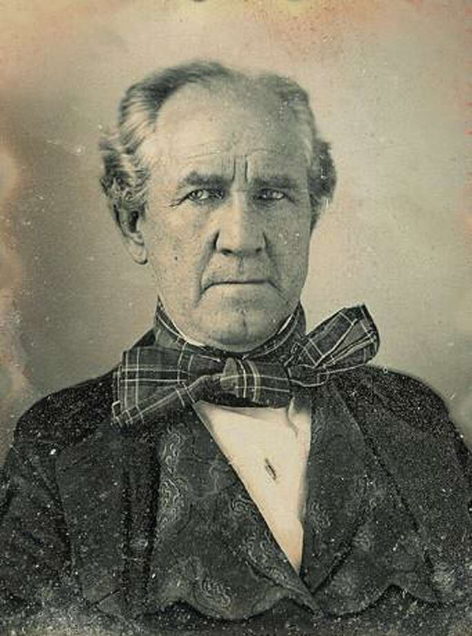 "Samuel ""Sam"" Houston (March 2, 1793 - July 26, 1863) was an American politician and soldier, best known for his role in bringing Texas into the United States as a constituent state. His victory at the Battle of San Jacinto secured the independence of Texas from Mexico. Photo: By Unidentified [Public Domain], / Houston Chronicle Files / Handout"