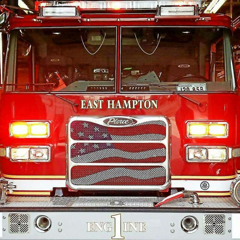 East Hampton Volunteer Fire Department Photo: Hearst Connecticut Media File Photo