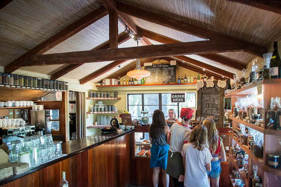 The scene inside Big Sur Bakery, one of the restaurants along Highway 1 in Big Sur. Photo: Nic Coury / Special To The Chronicle