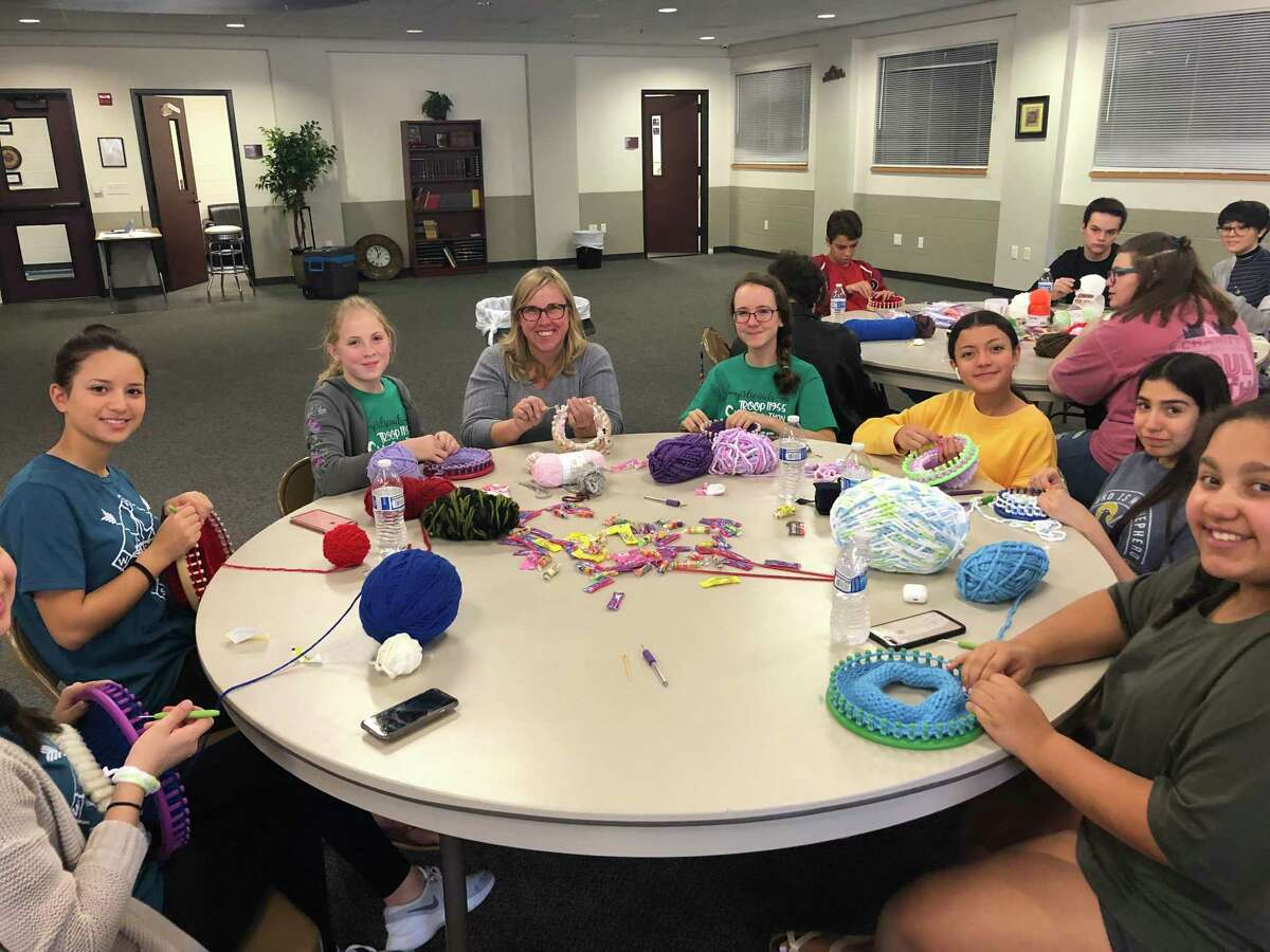 The Woodlands High School student and soon-to-be senior Gabrielle Henderson won a first-place scholarship from Four Star Leadership for her project, The Butterfly Affect. So far, her project has donated more than 300 hand-knitted hats to area hospitals.