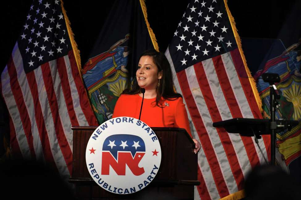 Stefanik takes stage at NY GOP 'comeback' event