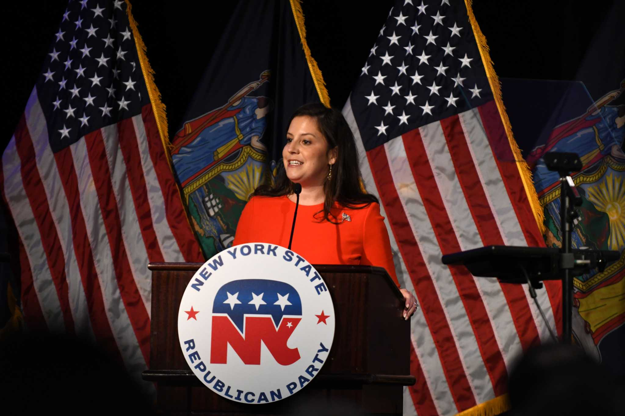 Stefanik raises voice on GOP fundraising and recruiting women