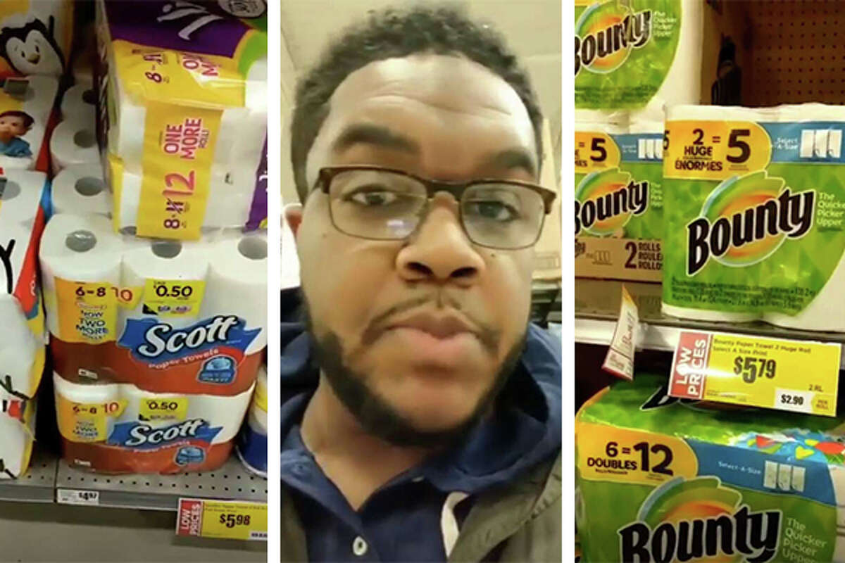 The H-E-B shopper who broke down the confusion of comparison shopping paper towels in hilarious video