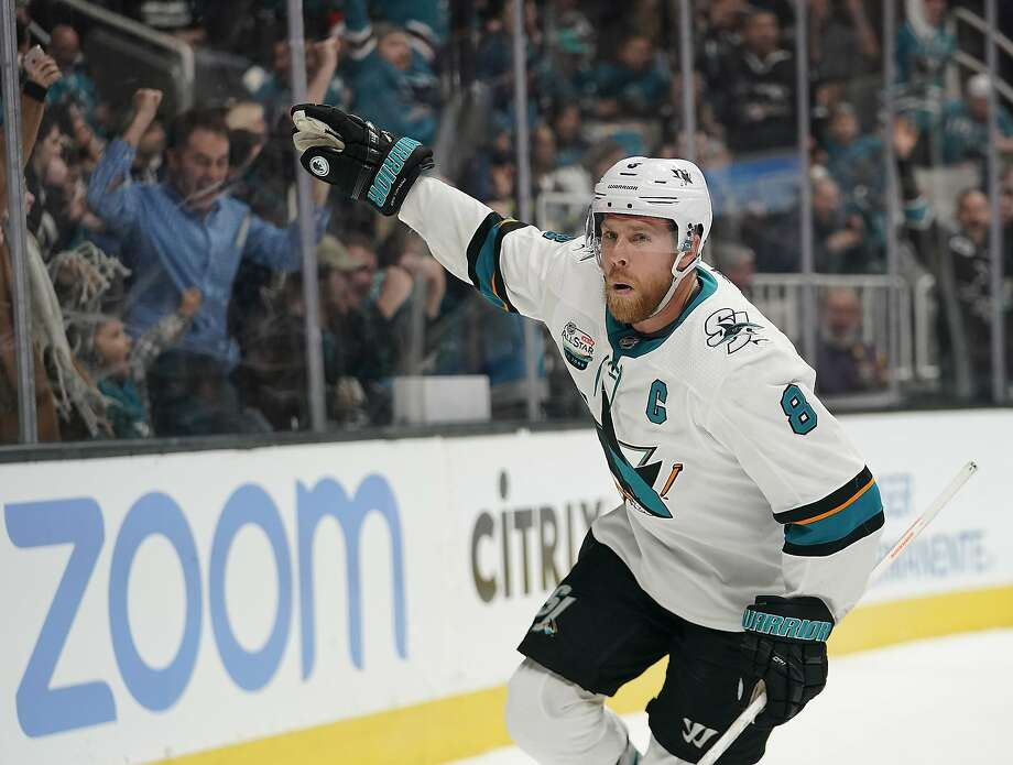 Joe Pavelski said the Sharks' unwillingness to match either the length or the value of the Dallas Stars' offer were the reasons behind him opting to leave San Jose after 13 seasons. Photo: Tony Avelar / Associated Press 2018
