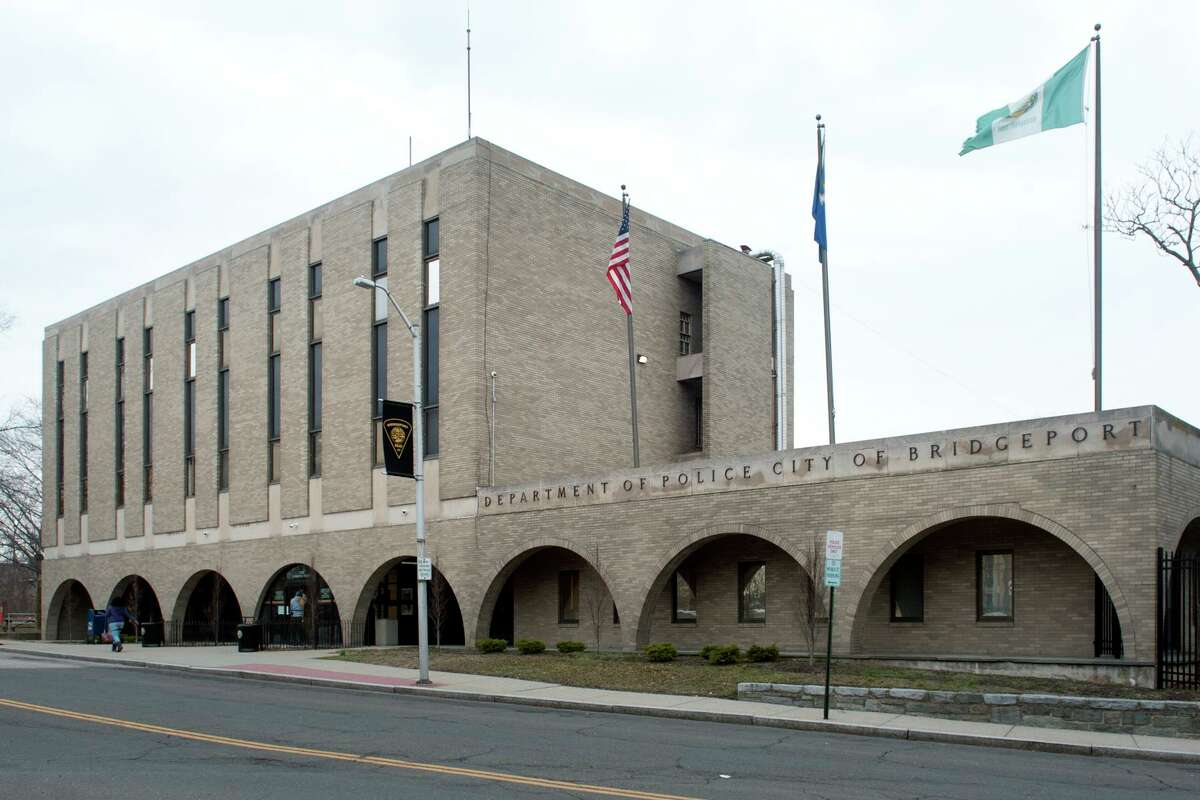 File photo of the Bridgeport Police Headquarters in Bridgeport, Conn., taken on March 1, 2018.