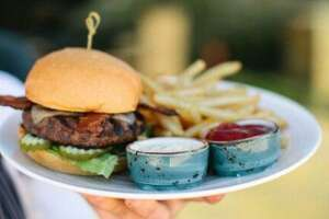 Burgers will be part of the 20th annual Culinaria Wine + Food Festival, scheduled Sept. 26-29 at La Cantera Resort & Spa.