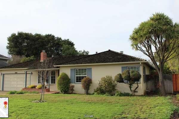 The house where Steve Jobs grew up in Los Altos, Calif.