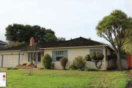 The house where Steve Jobs grew up in Los Altos, Calif.