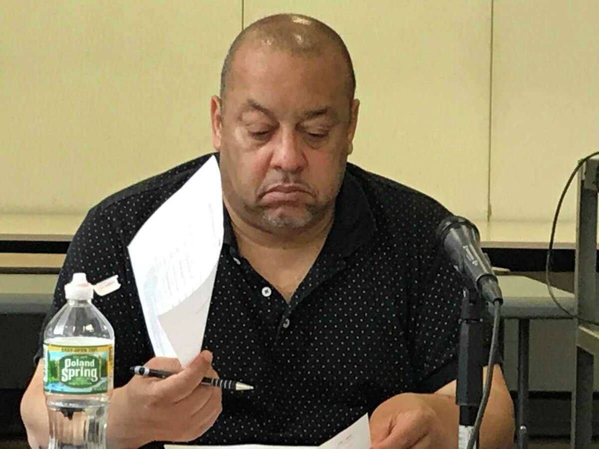 Board of Education President Darnell Goldson at a July 1, 2019 Finance and Operations Committee meeting.