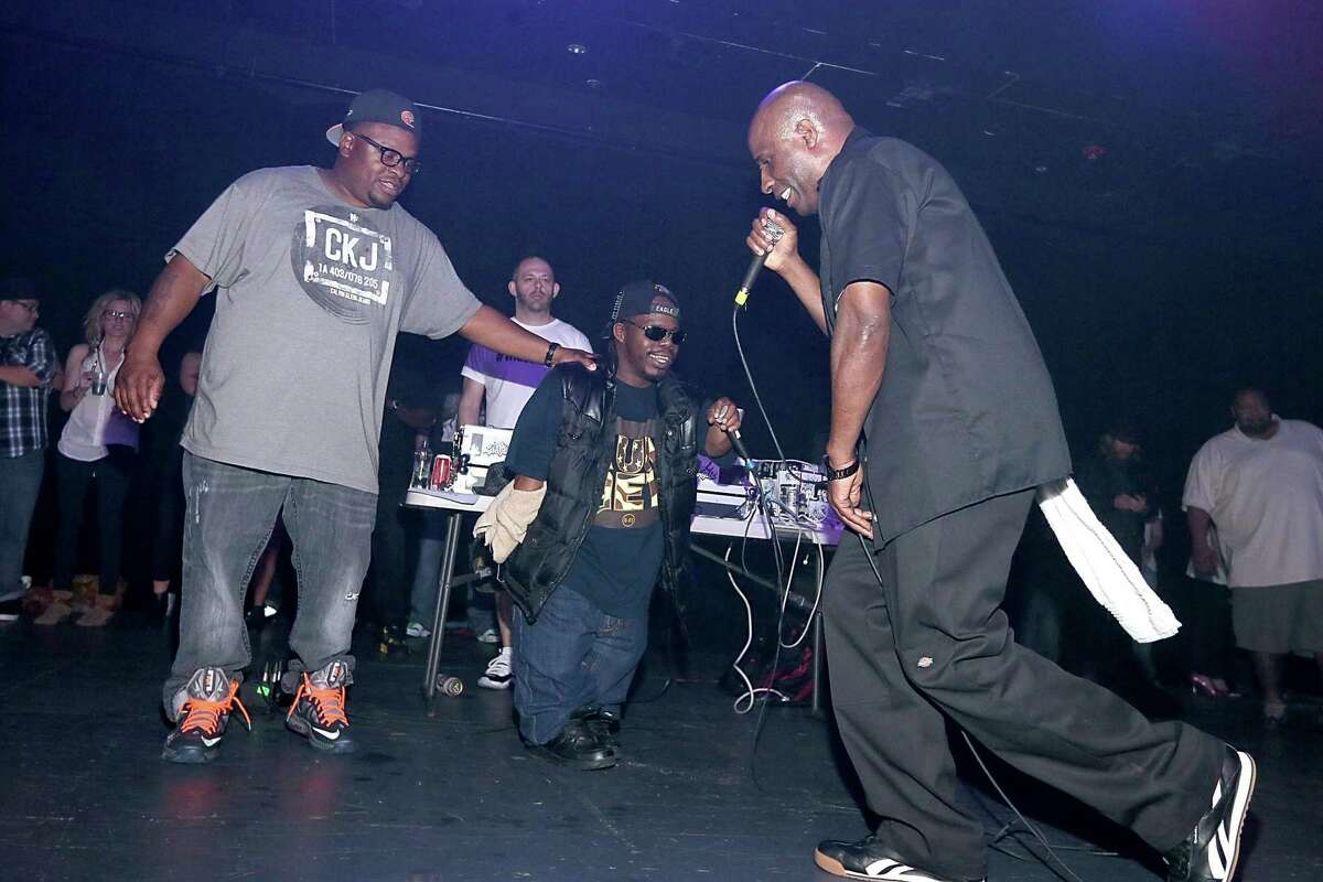 Scarface, Bushwick Bill and Willie D of the Geto Boys perform in concert at Emo's on January 26, 2013 in Austin, Texas. (Photo by Gary Miller/FilmMagic)
