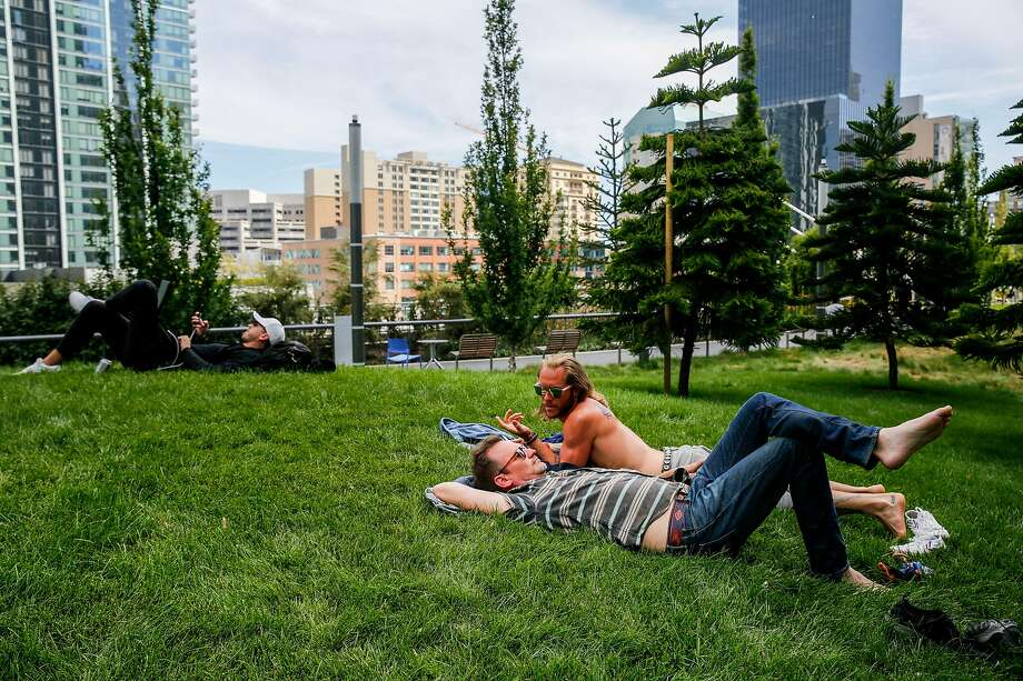 Salesforce Park in S.F. Photo: Josie Norris / The Chronicle