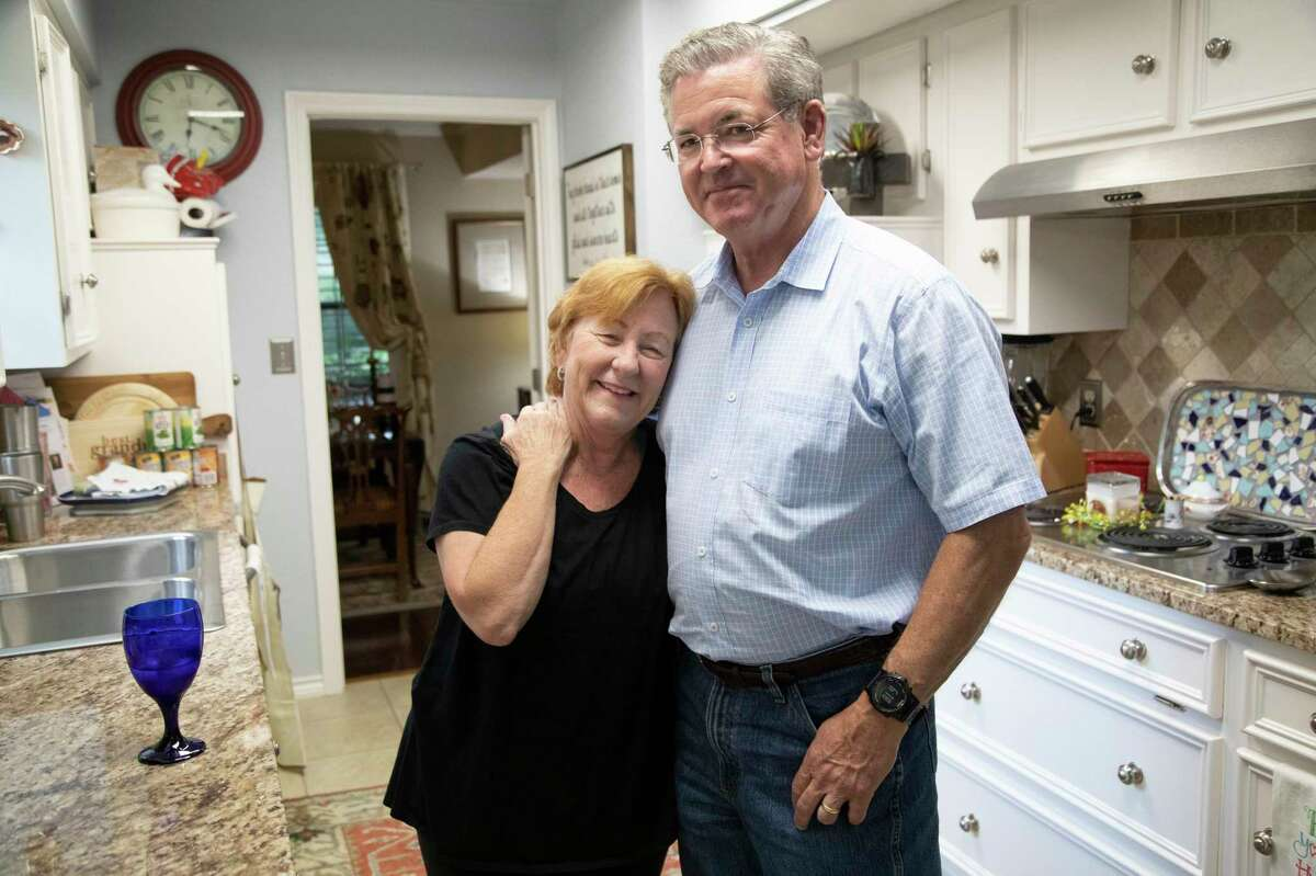 David and Megan Martinez at their home in Dallas. They bought health coverage through a health sharing ministry affiliated with the company Aliera, but now face medical bills of $129,000 that the plan would not cover.