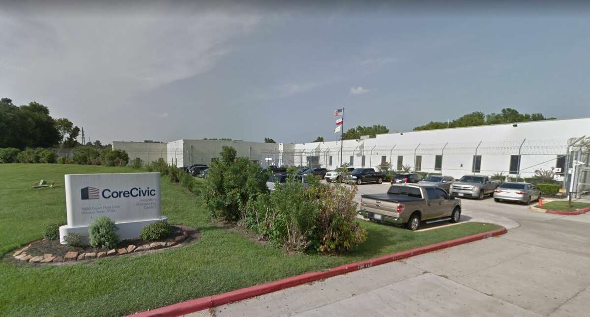 Yimi Alexis Balderramos-Torres, 30, had been held with the CoreCivic contractor at 15850 Export Plaza Drive for 12 days.