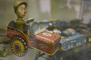 A military toy that is part of the Orangefield Cormier Museum's military toy exhibit. The toys were collected by Mr. Cormier over the years and were made between the 1950's and the 1990's. Photo taken on 07/01/19. Ryan Welch/The Enterprise
