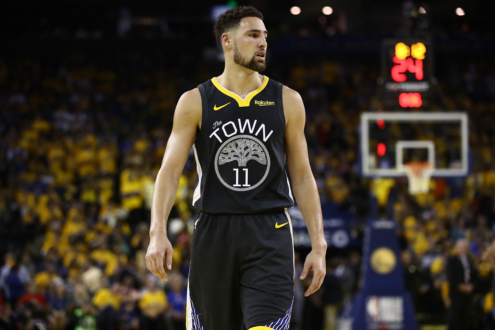 This new Klay Thompson hype video will make you want to run through a wall