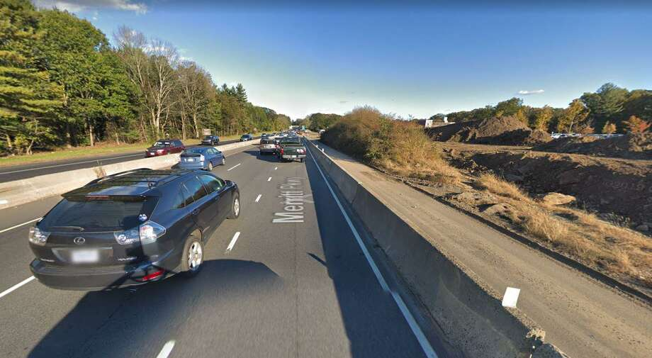 Just as the morning commute is starting to build, a motor-vehicle accident has closed one southbound lane on the Merritt Parkway on Tuesday, July 2, 2019. The two-vehicle crash, reported at 6:14 a.m., has closed one lane between Exits 42 and 41. Photo: Google Street View
