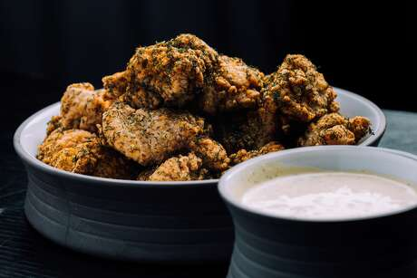 Dill Dusted Crunchy Fried Chicken at Tony's