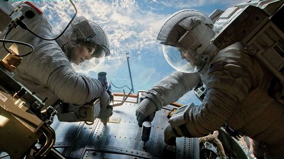 """Gravity"" will be screened at Rooftop Cinema on Thursday. Photo: Warner Bros Pictures / © 2013 Warner Bros. Entertainment Inc."