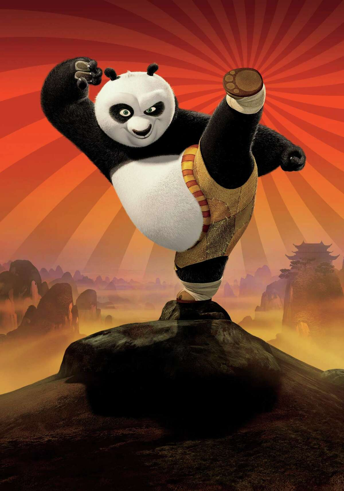 Kung Fu Panda (2008) | Kung Fu Panda 2 (2011) Leaving Netflix September 30