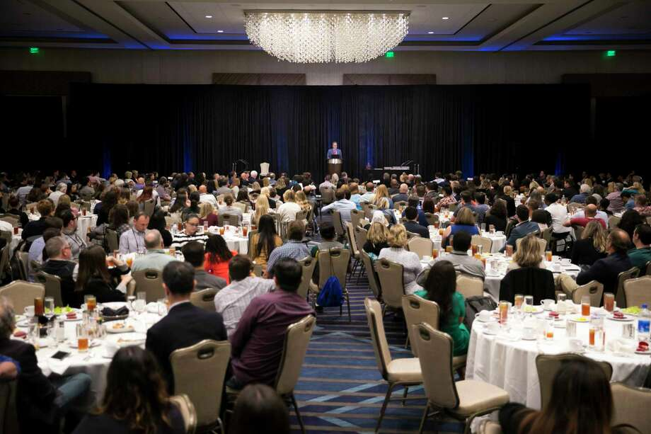 Photos from the award luncheon at the 2019 IRE Conference on Saturday, June 15, 2019, in downtown Houston. Photo: Annie Mulligan, Houston Chronicle / © 2019 Annie Mulligan