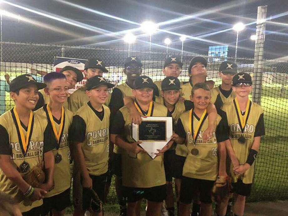 The Conroe Baseball Club 12U select team took second place in the Nations Mid South World Series this past week in Beaumont, Texas. Photo: Submitted Photo