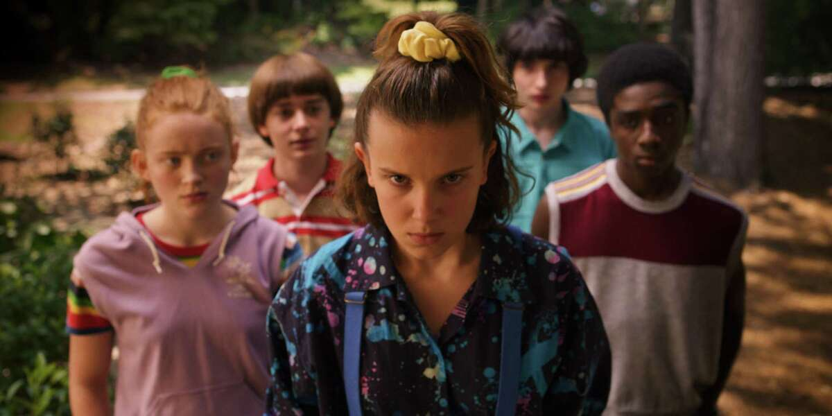Eleven (Millie Bobby Brown) and the gang are back in season three of