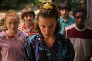 """Eleven (Millie Bobby Brown) and the gang are back in season three of """"Stranger Things."""""""