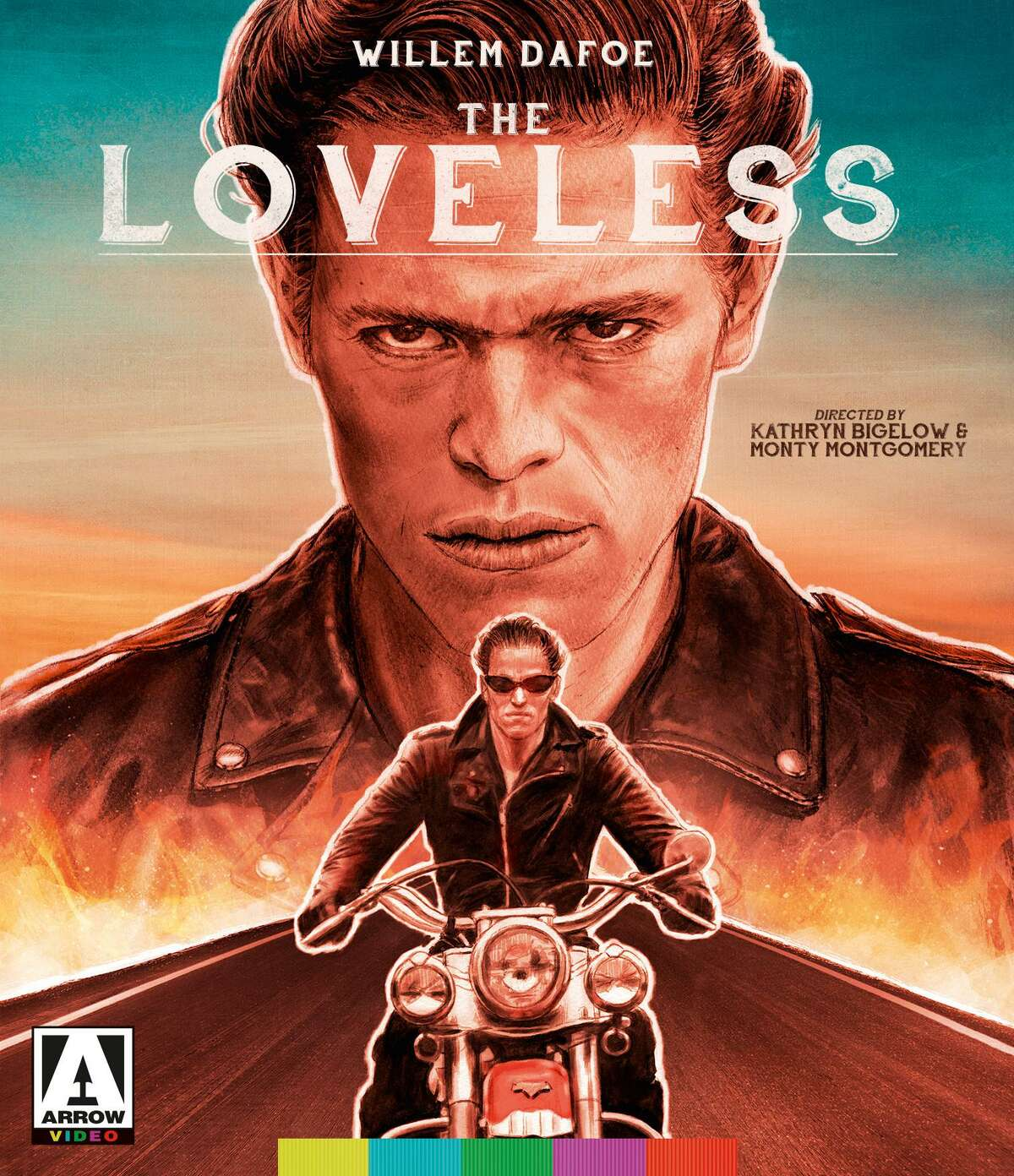 Willem Dafoe's first starring role was as a biker stranded in a Southern town in