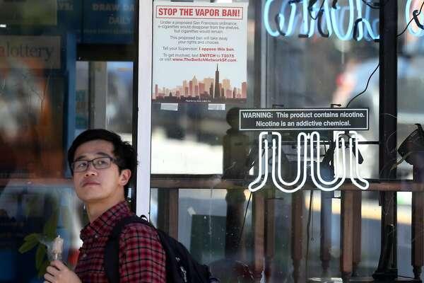 Juul-backed initiative to overturn SF e-cigarette ban one step