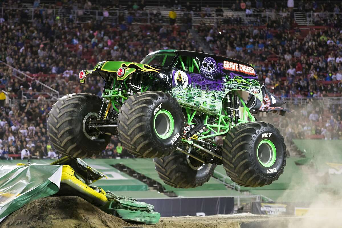 The widely recognized Grave Digger is a staple part of the touring Monster Jam shows.